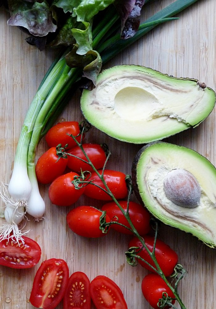 Gemüse macht glücklich
