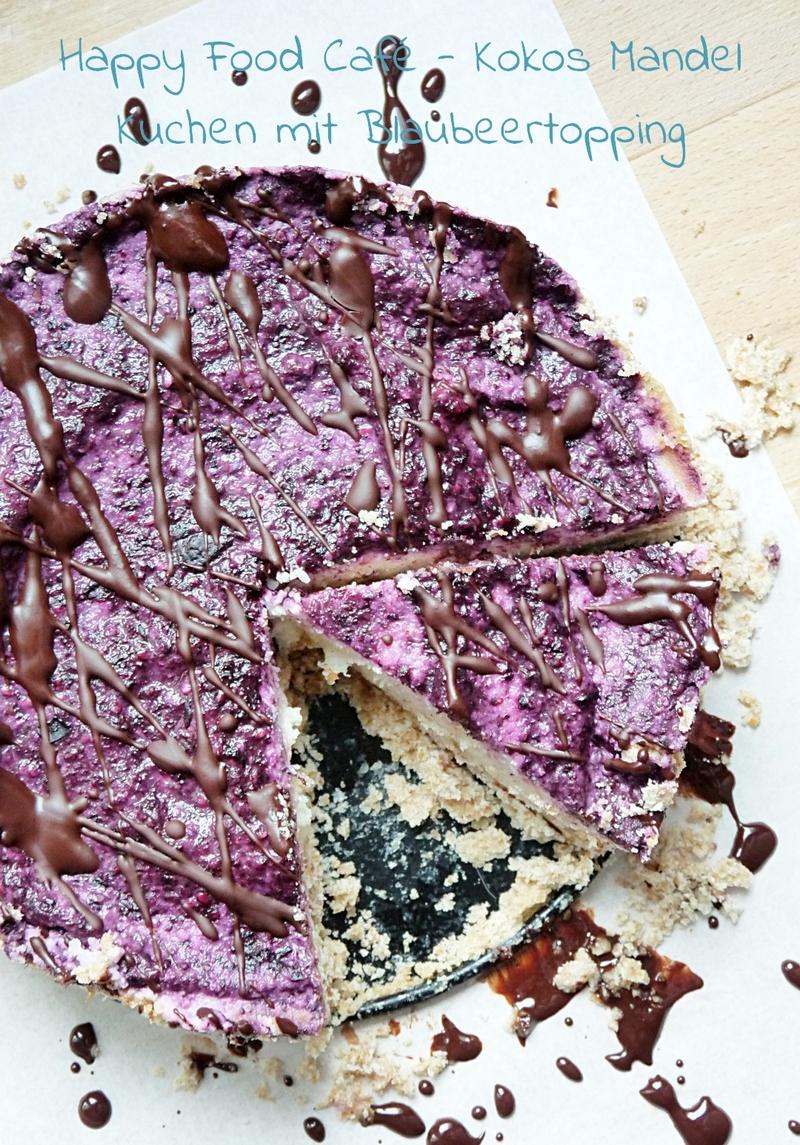 Happy Food Cafe - Kokos Mandel Kuchen