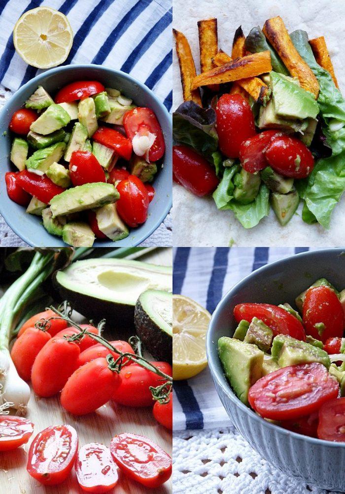 Rezept für einen HappyFood Wrap mit Avocado Relish