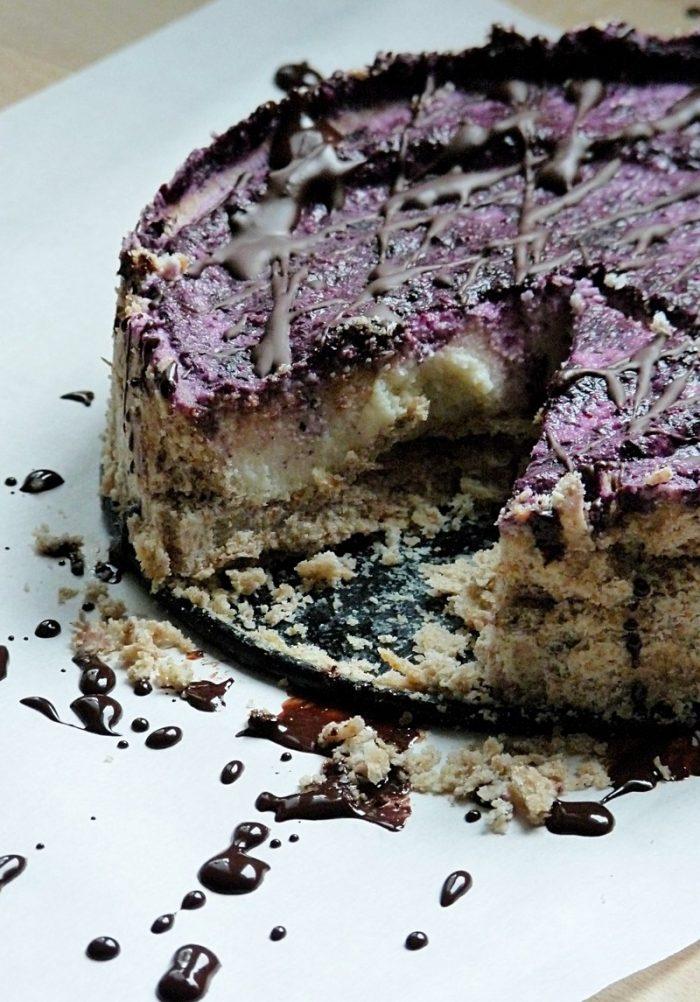 Rezept für gesunden Kuchen mit Schokolade