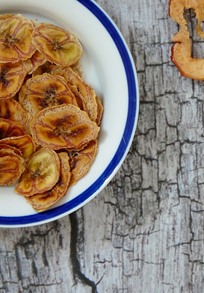 Bananenchips und Apfelchips Rezept