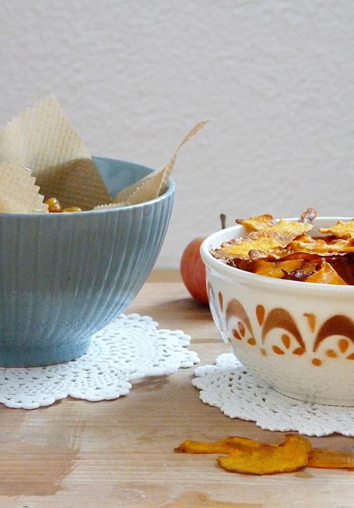 Suesskartoffelchips
