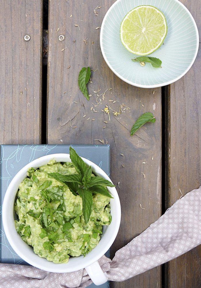 Guacamole mit Giersch