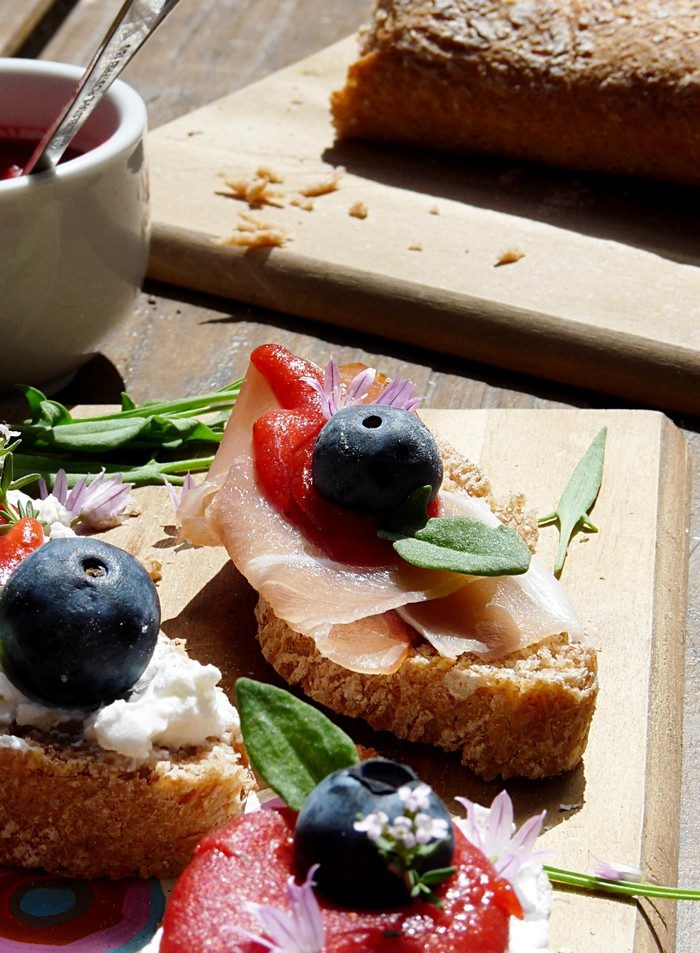kleiner Snack - DIY Baguette
