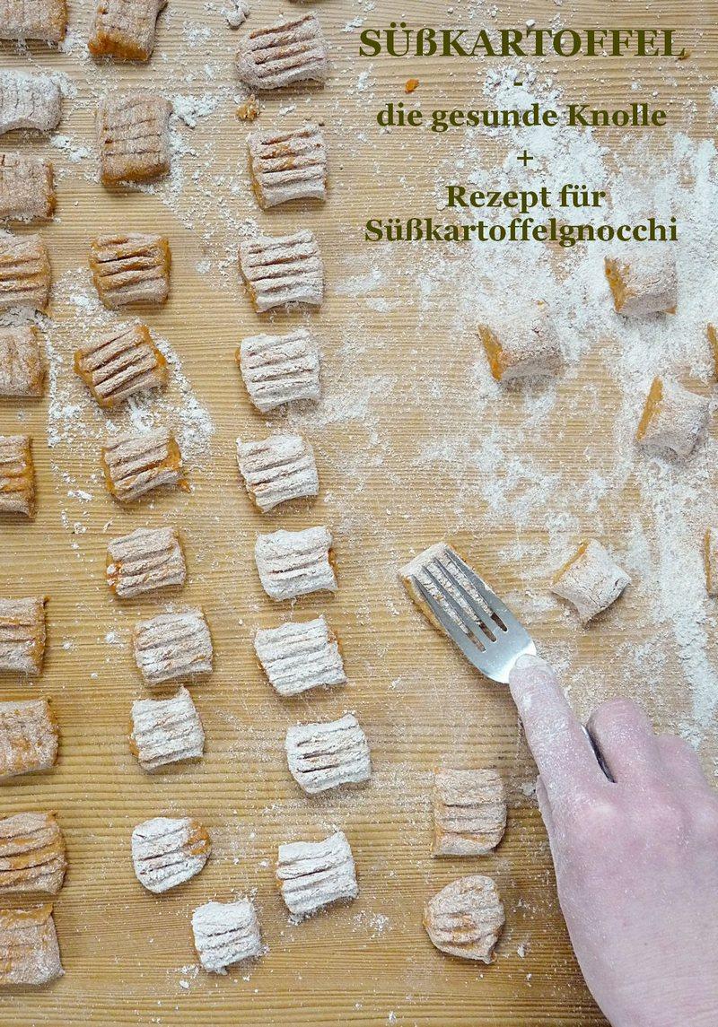 Süßkartoffelgnocchi selber machen