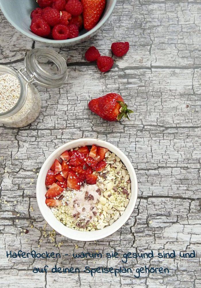 Haferflocken - overnight oats