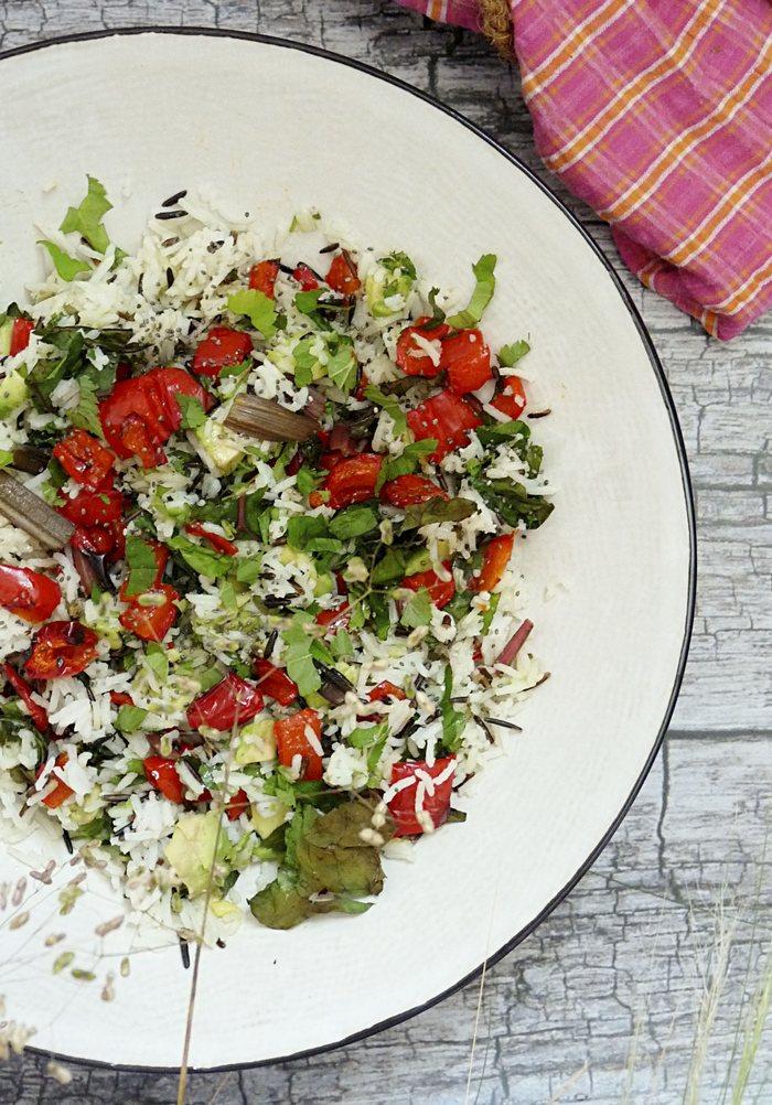 Salat mit Giersch