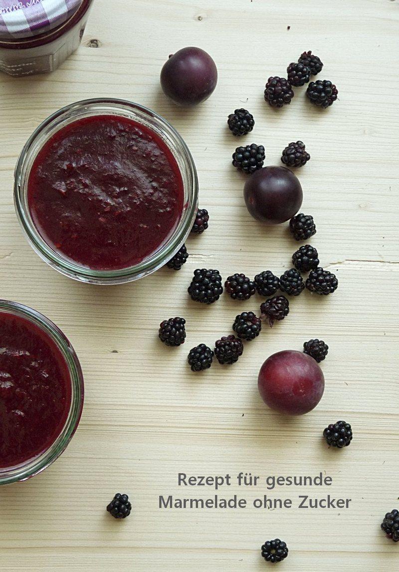 Rezept für gesunde Marmelade ohne Zucker