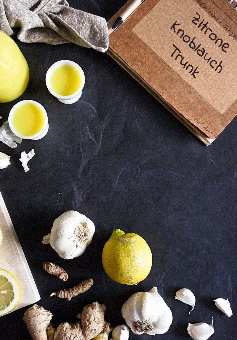 Zitrone Knoblauch Trunk Rezept