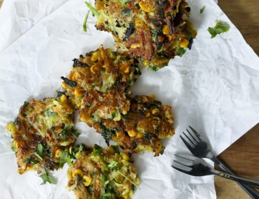 Gemüsepuffer vegan mit Buchweizenmehl